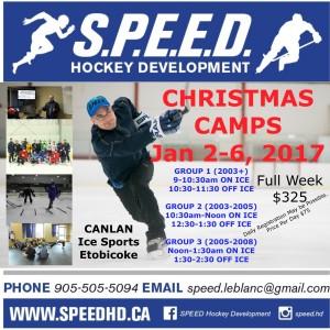 christmas camps 2017